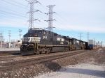 NS 9845 comes to deliver the mail